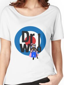 The Dr WHo Women's Relaxed Fit T-Shirt