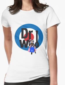 The Dr WHo Womens Fitted T-Shirt