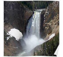 Grand Canyon of Yellowstone - YNP Poster