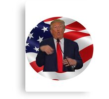 "Donald trump ""Make america great again!"" Canvas Print"