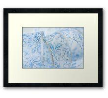 Blue Ribbon Framed Print