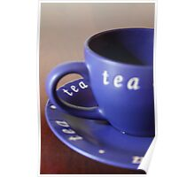 Perspective on Tea Poster