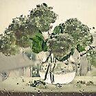 Bouquet with rain by Sviatlana Kandybovich
