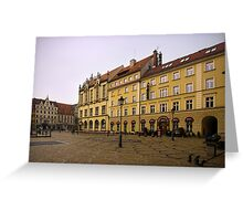 Wroclaw Yellow Greeting Card