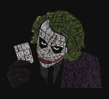 Why So Serious? - The Joker in Quotes by greglaporta