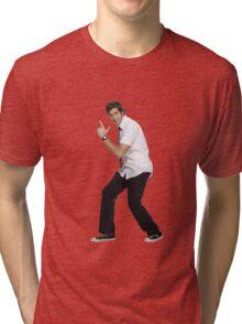 Chuck Bartowski Tri-blend T-Shirt