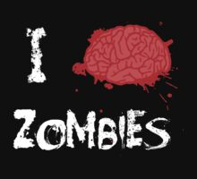 I BRAINS Zombies by pierceistruth