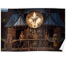 Great Wolf Lodge Great Clock Tower Dells Poster