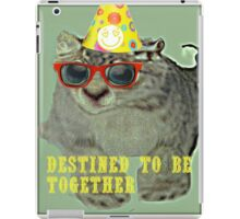 destined to be together iPad Case/Skin