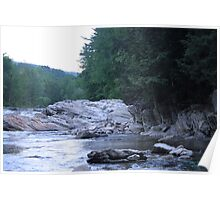 River Gorge  Poster