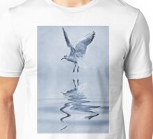 Black headed gull cyanotype Unisex T-Shirt