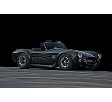 Shelby Cobra in the Black Photographic Print