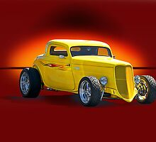 1934 Ford Coupe - Studio 1 by DaveKoontz