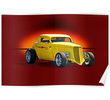 1934 Ford Coupe - Studio 1 Poster
