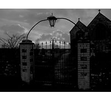 Meet Me at the Cemetery Gates Photographic Print
