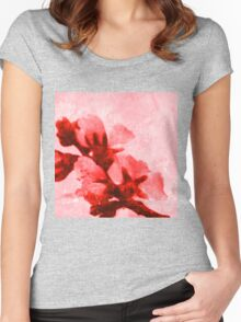 Spring blossoms Women's Fitted Scoop T-Shirt