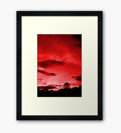 Scarlett Sky Framed Print