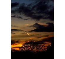 Autumn Evening Photographic Print