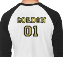 Birds of Prey Team Jesey- Barbara Gordon Men's Baseball ¾ T-Shirt