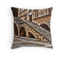 ๑۩۞۩๑Stairs Rhode Greece ๑۩۞۩๑ Throw Pillow