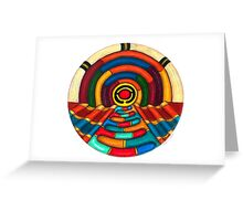 Music Hall Card Greeting Card