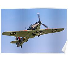 CCF Sea Hurricane X AE977 N33TF Poster