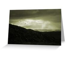 Weather on The Western Isles Greeting Card
