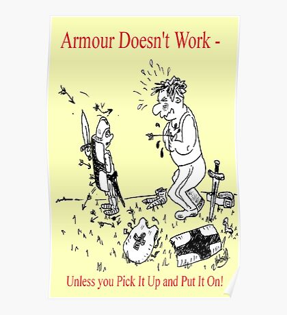 Armour Doesn't Work Poster