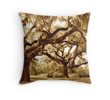 The Mighty Oaks Throw Pillow