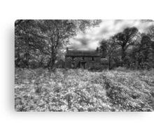 old irish house infrared Canvas Print