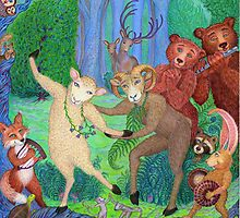 Forest Dance by Debra A. Hitchcock
