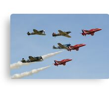 The Red Arrows with 'Eagle Squadron' Canvas Print