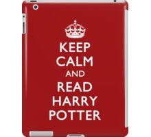 KEEP CALM & READ HP iPad Case/Skin