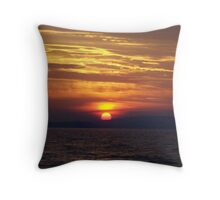 behind the hill Throw Pillow
