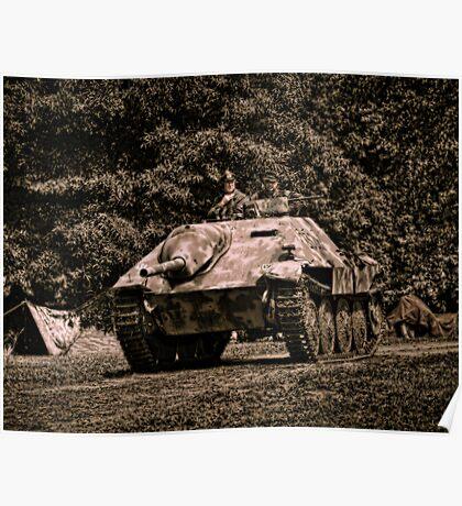 German Armor Poster