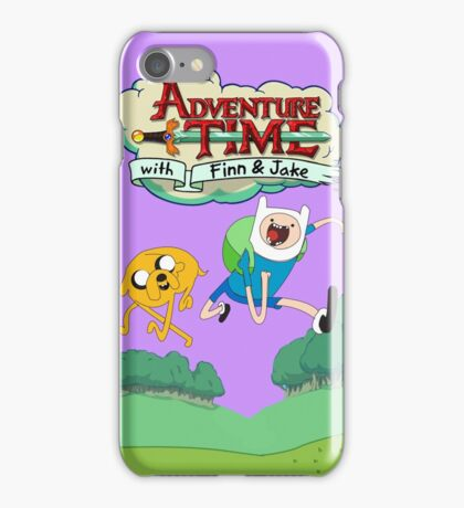 Adventure Time Finn and Jake iPhone Case/Skin