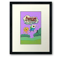 Adventure Time Finn and Jake Framed Print
