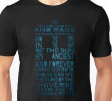 Doctor Who Tardis Quote Design Unisex T-Shirt