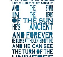Doctor Who Tardis Quote Design by Morware