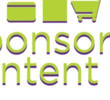 Sponsored Content Sticker