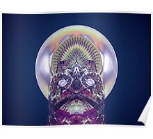 Tut60#9: Lunar Ice Sculpture  (G1326) Poster