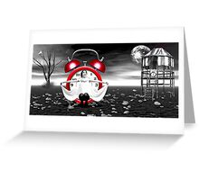 Frozen In Time... Greeting Card