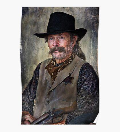 Wild West Cowboy Poster