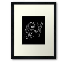 Skin and Bones Framed Print
