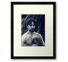 Shane - The Fighter Framed Print
