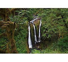 Triple Falls, Columbia River Gorge, Oregon Photographic Print