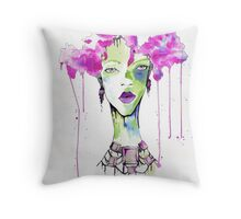 Dripping in Opulance  Throw Pillow