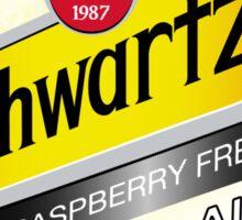 Schwartz ginger ale Sticker