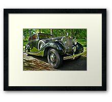1938 Rolls Royce Framed Print
