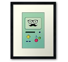 Beemo Mustache - Adventure Time Framed Print